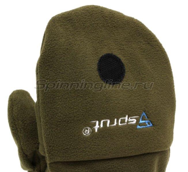 Перчатки-варежки Sprut Thermal WS Gloves-Mittens L хаки -  6