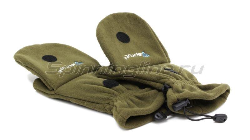 Перчатки-варежки Sprut Thermal WS Gloves-Mittens L хаки -  9