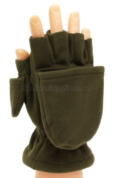 Перчатки-варежки Sprut Thermal WS Gloves-Mittens XL хаки -  1