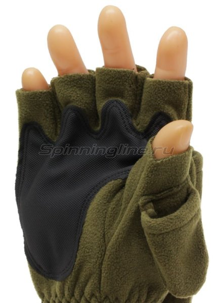 Перчатки-варежки Sprut Thermal WS Gloves-Mittens XL хаки -  5