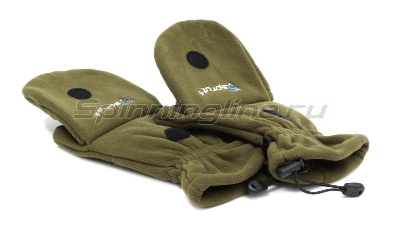 Перчатки-варежки Sprut Thermal WS Gloves-Mittens XL хаки -  9