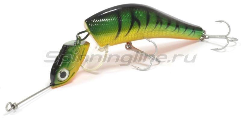Воблер Wake Jigwobbler 150 93гр Green Tiger -  1