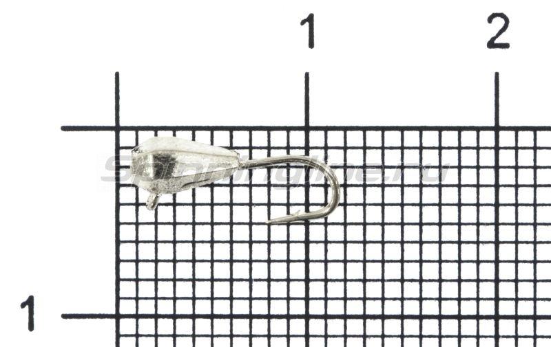 Мормышка Nord Water's Капля грань вертикальная d3 AG -  1
