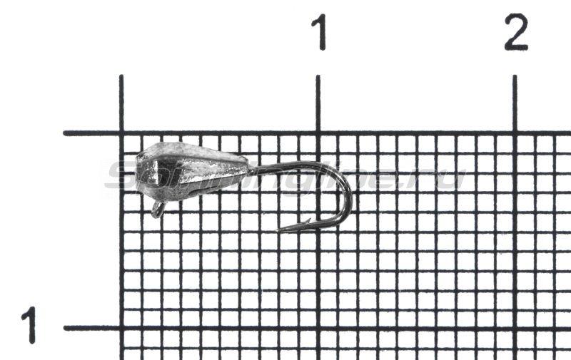 Мормышка Nord Water's Капля грань вертикальная d3 BN -  1