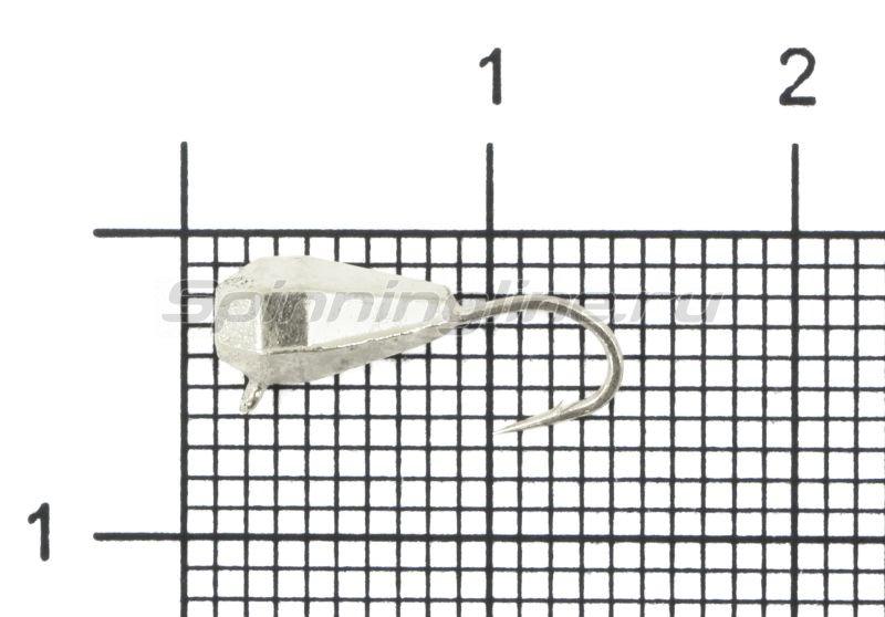 Мормышка Nord Water's Капля грань вертикальная d4 AG -  1