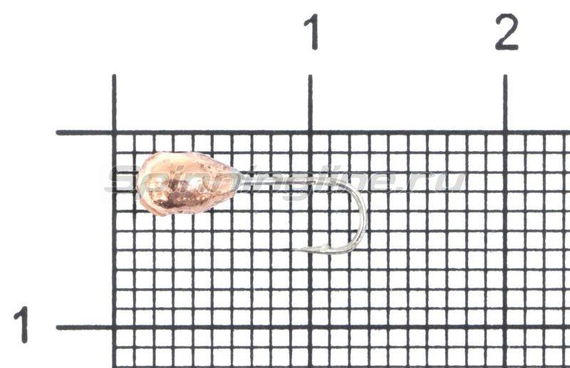 Мормышка Nord Water's Капля с отверстием d3.5 CU -  1