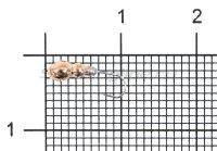 Мормышка Nord Water's Муравей круглый с отверстием d2.5 CU