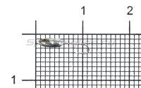 Мормышка Nord Water's Овсинка с фаской с отверстием d2.5 BN