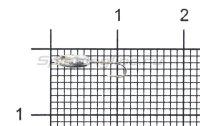 Мормышка Nord Water's Овсинка с фаской с отверстием d2.5 NI