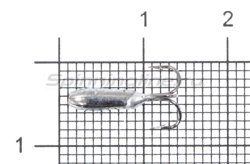 Мормышка Nord Water's Чертик с тройником d3 BN -  1