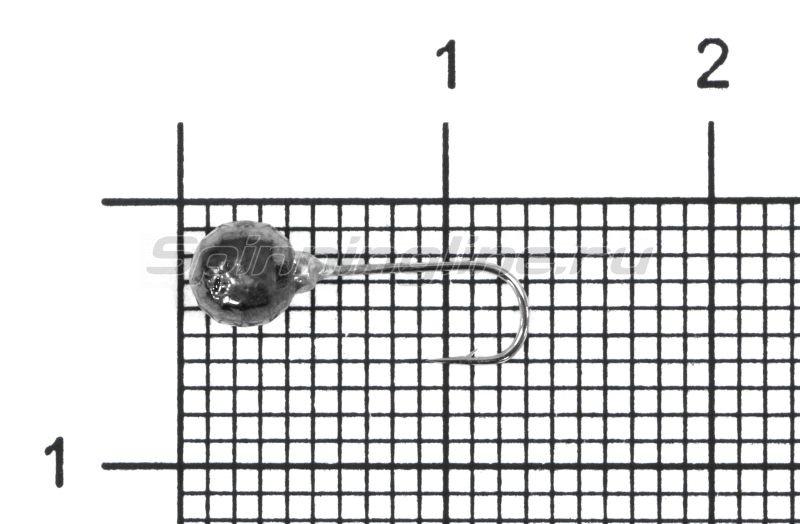 Мормышка Nord Water's Шар граненый с отверстием d4 BN -  1