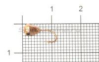 Мормышка Рыболов-Олта Многогранник с отверстием d4 медь