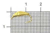 Мормышка Рыболов-Олта Банан граненый с ушком d3 золото