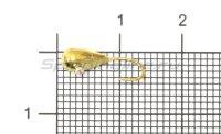 Мормышка Рыболов-Олта Японская капля с отверстием d4 золото
