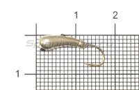 Мормышка Рыболов-Олта Коготок с отверстием d5 серебро
