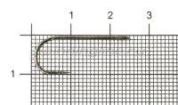 Крючок Metsui Round Barbed bln №4