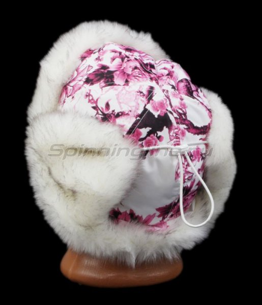 Ушанка Laparka Alma Sakura розовый песец -  3