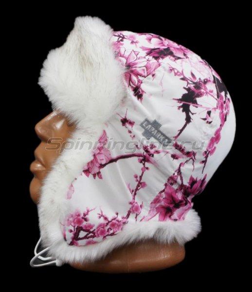 Ушанка Laparka Alma Sakura розовый песец -  5