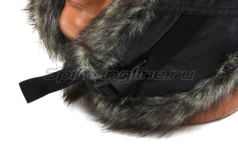 Ушанка Laparka Lappi черный крек-лайт барсук -  6