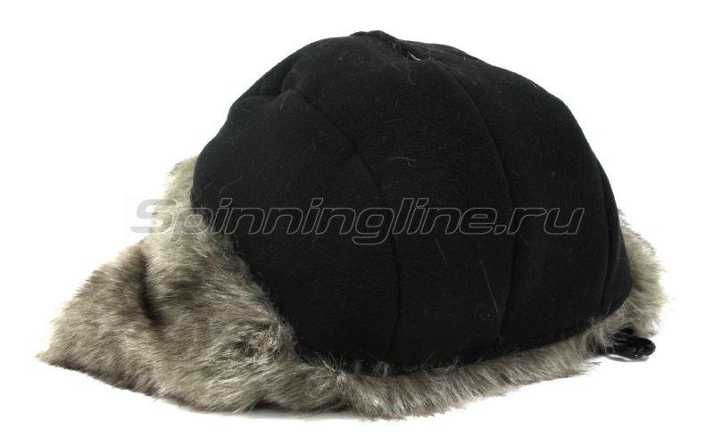 Ушанка Laparka Lappi черный крек-лайт барсук -  8