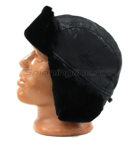 Ушанка Laparka Lappi черный крек-лайт мутон -  2