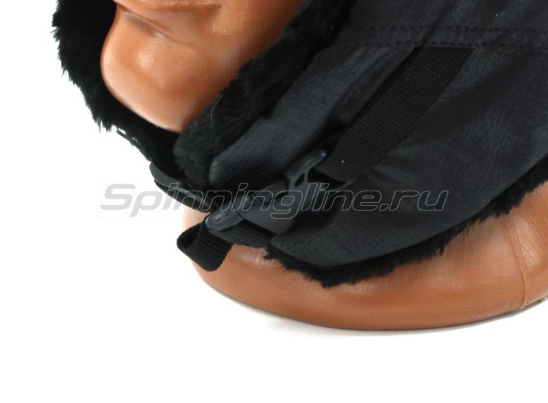 Ушанка Laparka Lappi черный крек-лайт мутон -  6