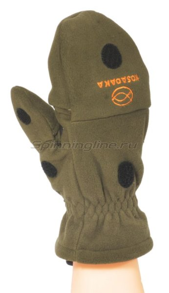 Перчатки-варежки Kosadaka флисовые с мембраной L -  1
