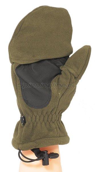 Перчатки-варежки Kosadaka флисовые с мембраной L -  2