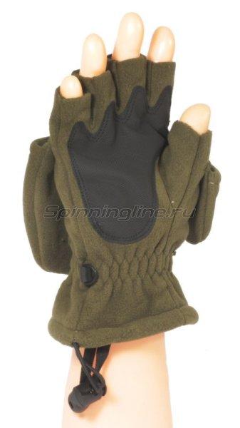 Перчатки-варежки Kosadaka флисовые с мембраной L -  4