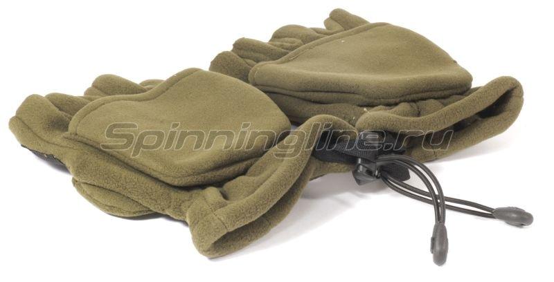 Перчатки-варежки Kosadaka флисовые с мембраной L -  5