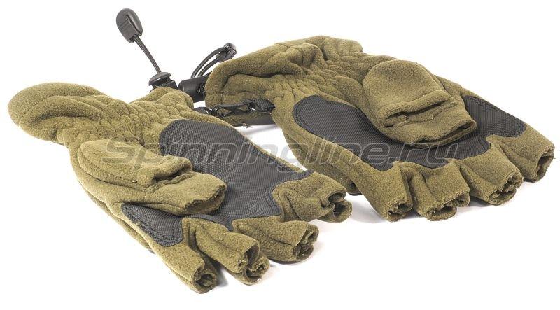 Перчатки-варежки Kosadaka флисовые с мембраной L -  6