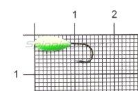 Мормышка Shape светящаяся Овсинка №12 зеленый