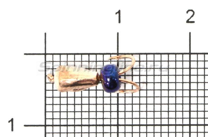 Мормышка Коза капля d3.2 медь -  1