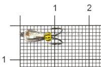 Мормышка Коза капля d3.2 никель