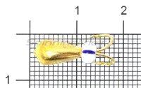 Мормышка LumiCom Коза капля d5 золото