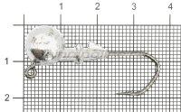 Джиг-головка Barbarian Jig 120 1/0 10гр
