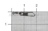Вертлюг с карабином Cralusso Swivel Safety Snap №14