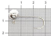 Микро-Джиг шар Fish Gold 3,5гр кр.Gamakatsu №2