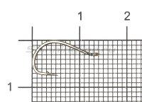 Крючок KOI Tanago Ring №8