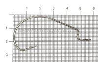 Крючок Wide Range Worm №5/0