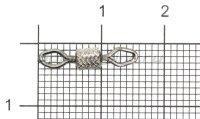 Вертлюг Econom Series Diamond Eye Imprssed Rolling Swivel №4