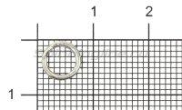 Кольцо заводное Econom Series Split Ring №4