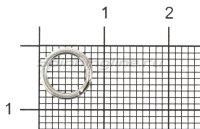 Кольцо заводное Econom Series Split Ring №5