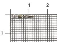 Вертлюг с застежкой Cralusso Swivel With Side Line Clip №10