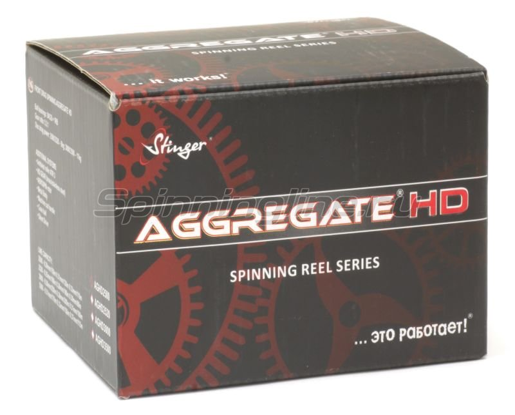 Катушка Stinger Aggregate HD 3000 -  6