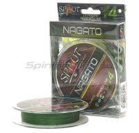 Шнур Sprut Nagato Ultimate Braided Line x4 95м 0,23мм Dark Green