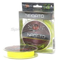 Шнур Nagato Ultimate Braided Line x4 95м 0,14мм Fluo Yellow