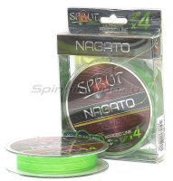 Шнур Sprut Nagato Ultimate Braided Line x4 95м 0,18мм Neon Green
