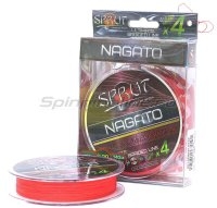 Шнур Sprut Nagato Hard Ultimate Braided Line x4 140м 0,14мм Hot Red