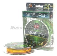 Шнур Saburo Soft Ultimate Braided Line x4 140м 0,25мм Multicolor